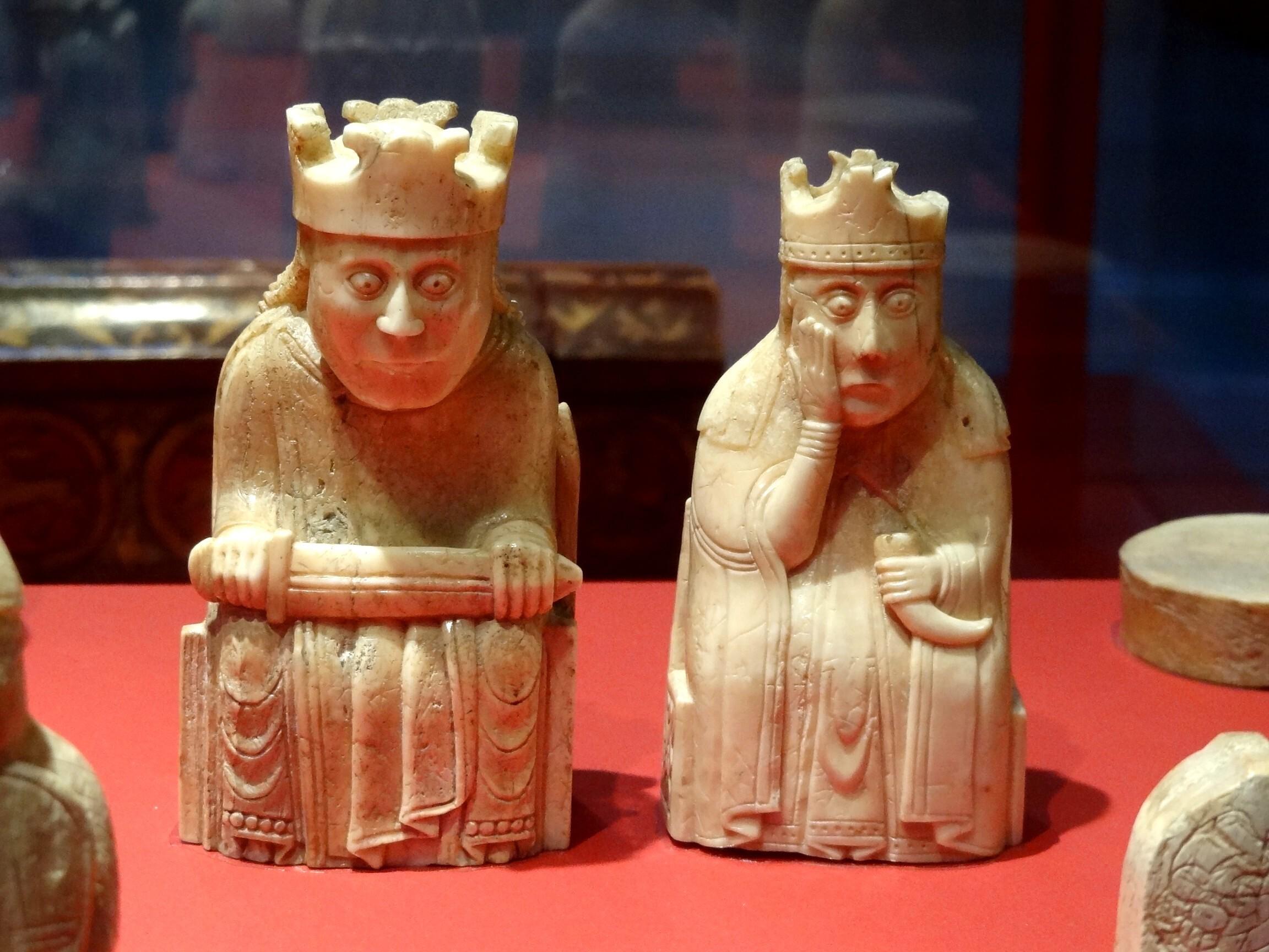 Pièces d'échecs (British Museum)